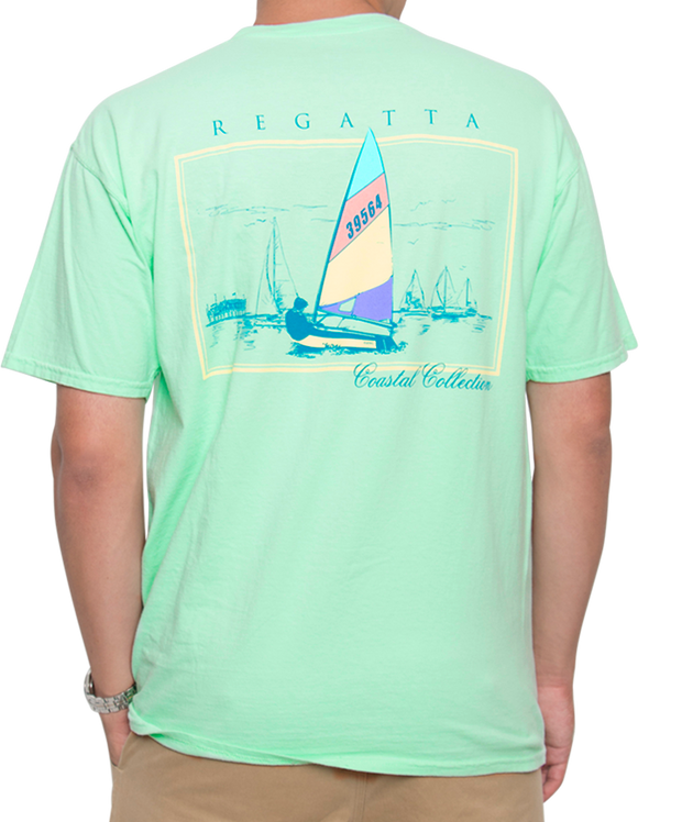 Southern Shirt Co. - Petit Bois Regatta Short Sleeve Tee Reef Back