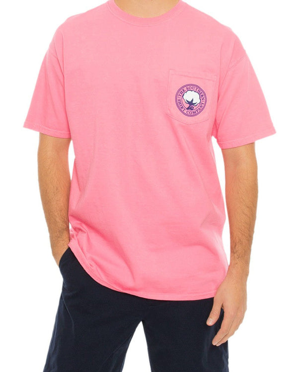 Southern Shirt Co. - Bow Tie Tradition Tee - Lily Pink
