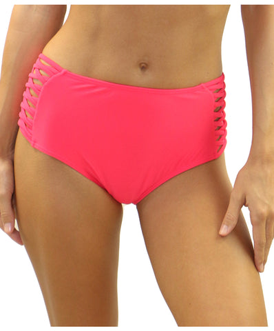 Heat Swimwear - Cheeky High Waisted Bottom