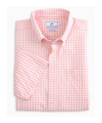 Southern Tide - Lucayan Gingham IC S/S Sportshirt