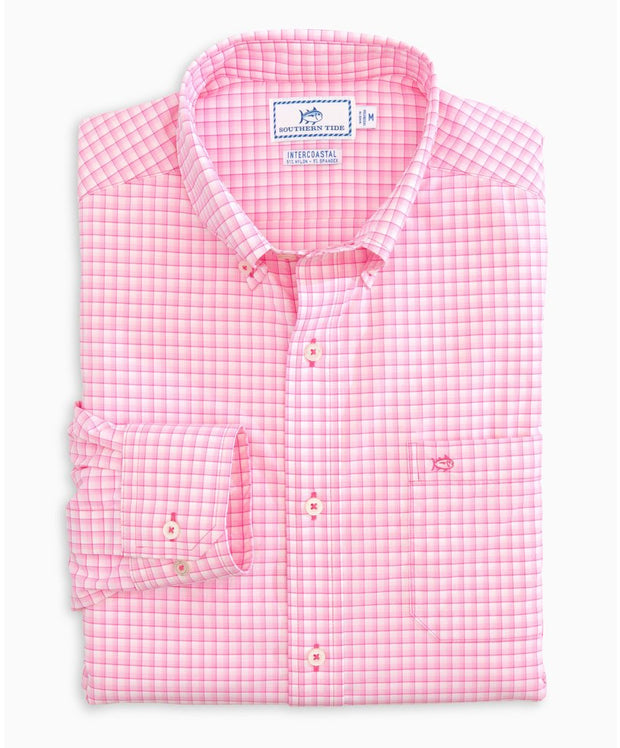 Southern Tide - Binnicle Intercoastal Mini Check Sport Shirt