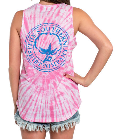 Southern Shirt Co - Salt Washed Tie Dye Tank