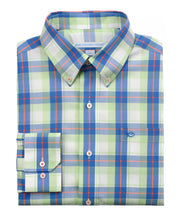 Southern Tide - Bon Voyage Plaid Sport Shirt - Lime