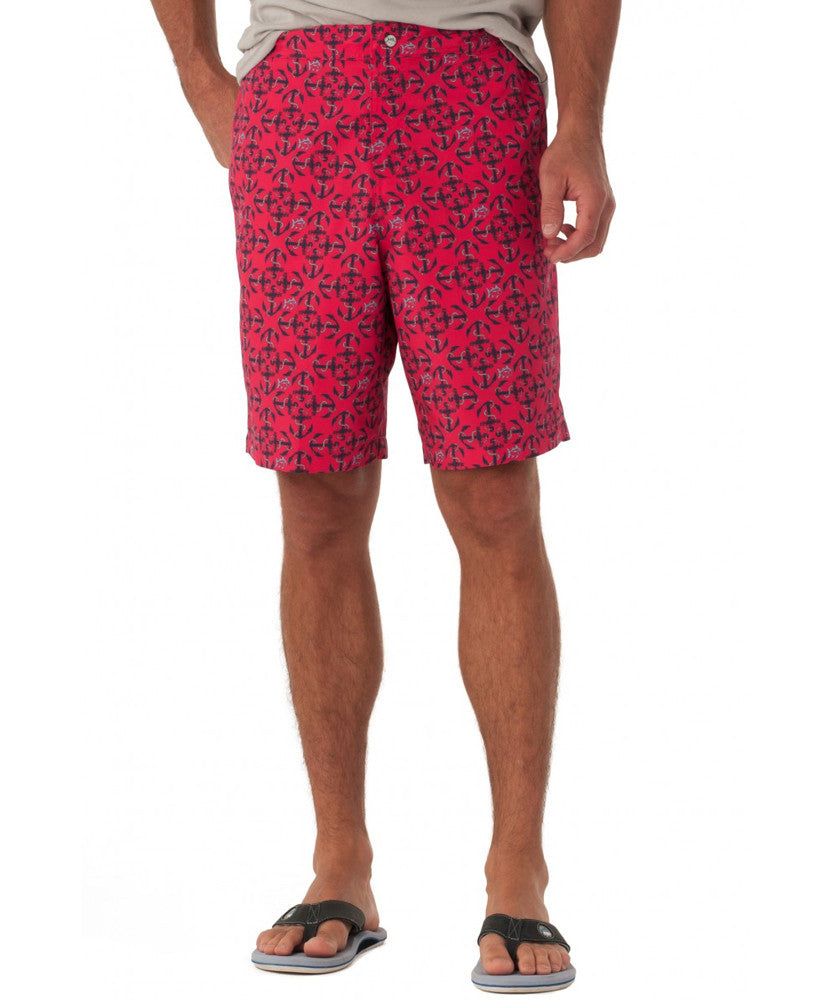 Southern Tide - Printed Water Shorts - Port Side Front