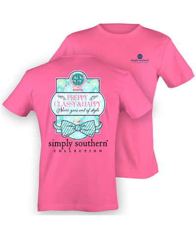 Simply Southern - Preppy Classy & Happy Tee