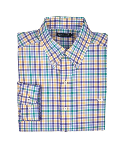 Southern Marsh - Juban Check Dress Shirt