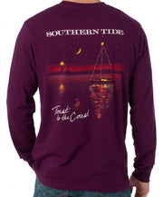 Southern Tide - Toast to the Coast Long Sleeve Tee