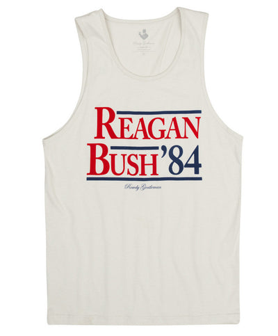 Rowdy Gentleman - Reagan Bush '84 Tank Top