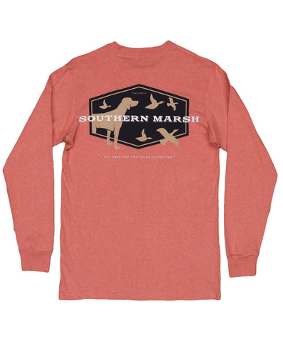Southern Marsh - Youth Branding - Hunting Dog Long Sleeve Tee