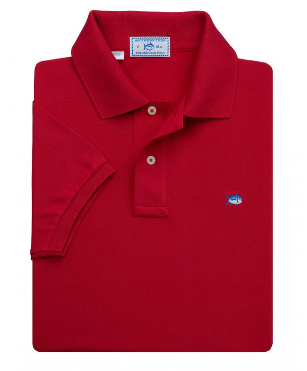 Southern Tide - Classic Skipjack Polo - Red