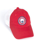 Southern Shirt Co. - Mesh Back Logo Hat - Red/White