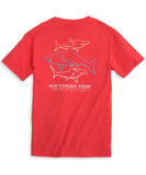 Southern Tide - Three Best Fins Tee