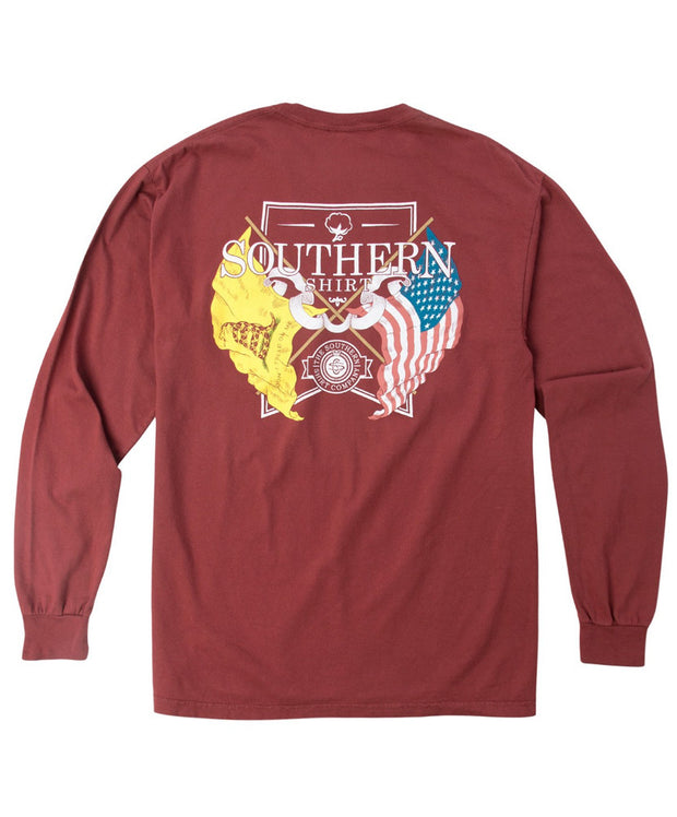 Southern Shirt Co -  American Pride Long Sleeve Tee