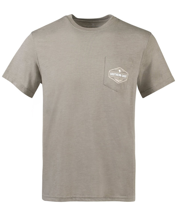 Southern Shirt Co - Rainbow Trout Badge Tee