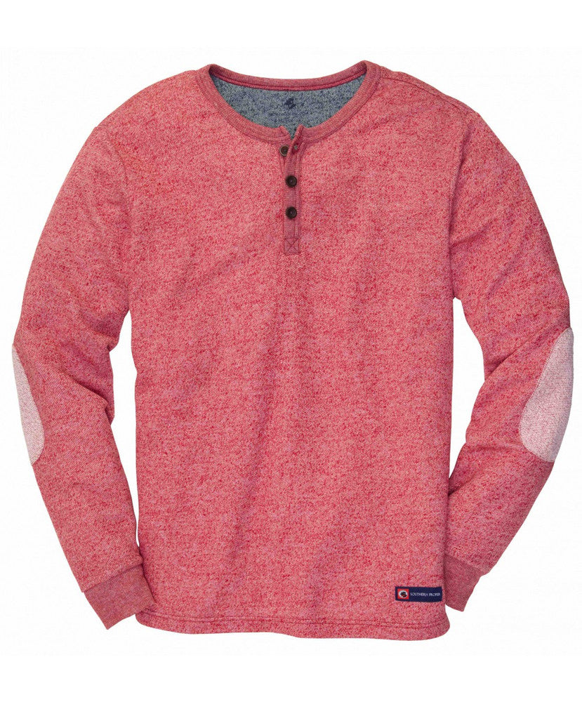 Southern Proper - Hunter Henley Pullover
