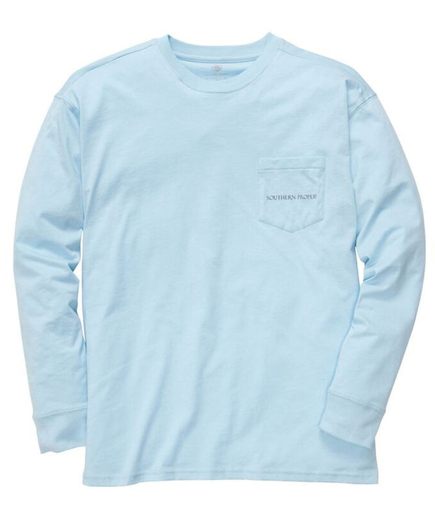 Southern Proper - Old Man River Long Sleeve Tee