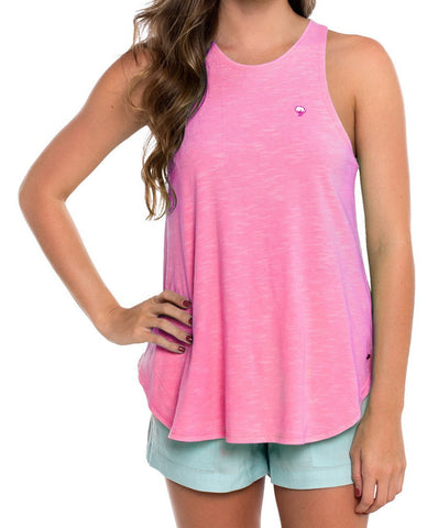 Southern Shirt Co - Striped Hi-Neck Tank