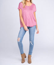 Southern Shirt Co - Shelby Slub S/S Henley