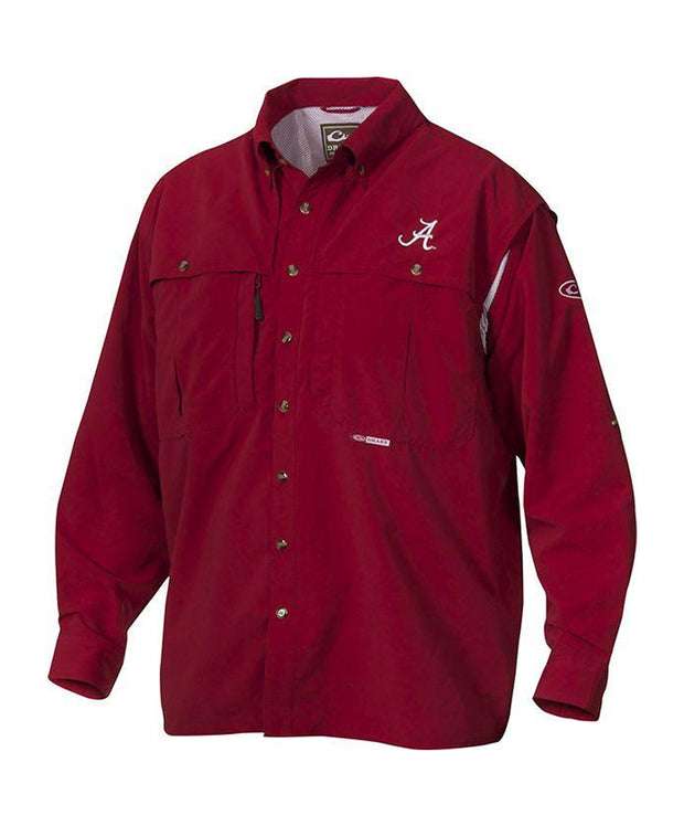 Drake - Alabama Wingshooter's Long Sleeve Shirt