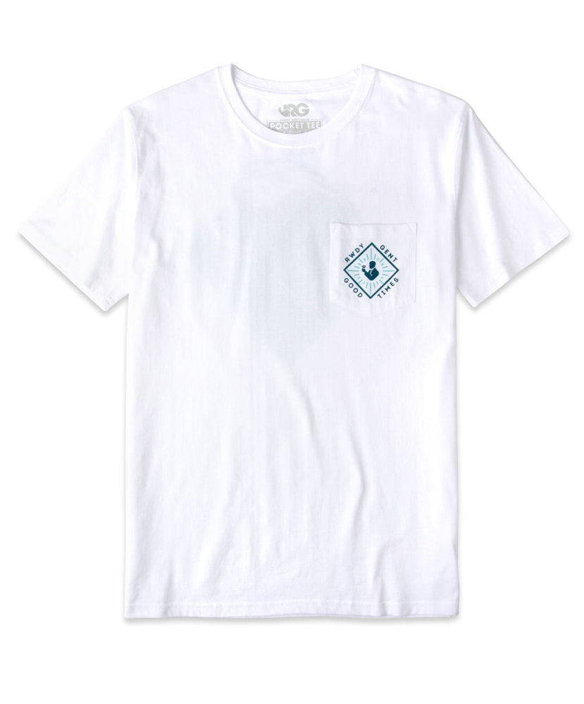 Rowdy Gentleman - The Wave Pocket Tee