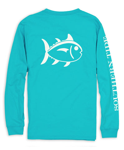 Southern Tide - Outlined Skipjack Long Sleeve Tee