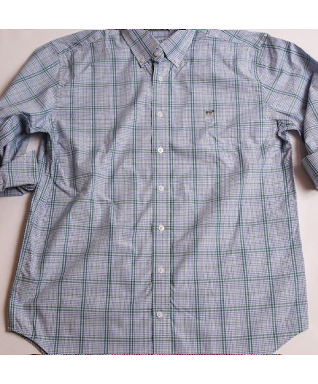 Southern Point - Hadley Long Sleeve Button Down - Sea Breeze
