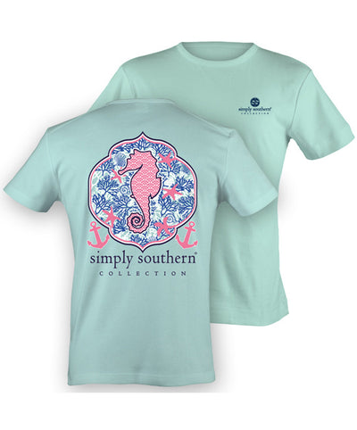 Simply Southern - Preppy Seahorse Tee