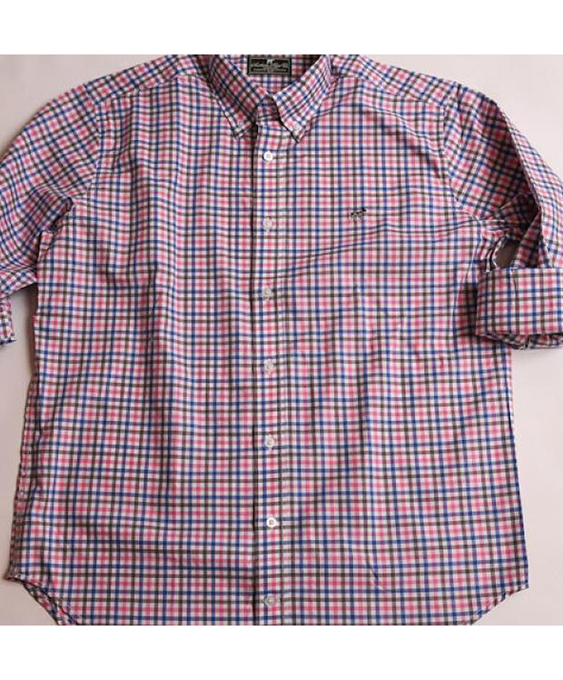 Southern Point - Hadley Long Sleeve Button Down - Sea Net Pink