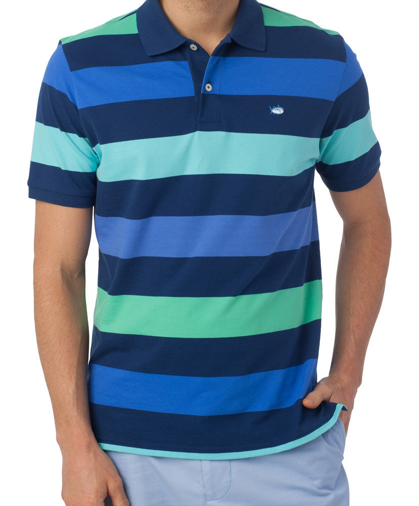 Southern Tide - Sea Stripe Polo