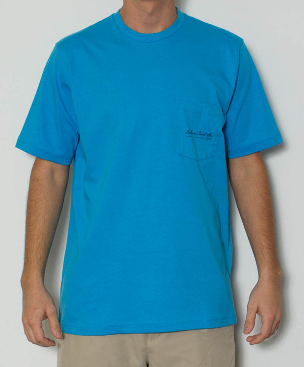 Southern Point - Tied to the Beach S/S Tee - Front