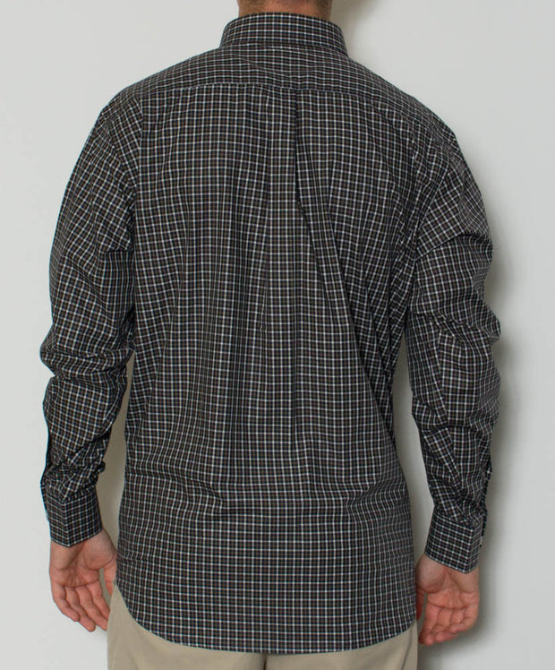 Southern Point - Hadley Long Sleeve Button Down - Mountainside - Back