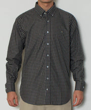 Southern Point - Hadley Long Sleeve Button Down - Mountainside - Front