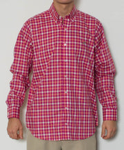 Southern Point - Hadley Long Sleeve Button Down - Dawn - Front
