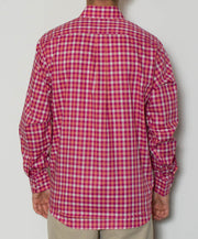 Southern Point - Hadley Long Sleeve Button Down - Dawn - Back