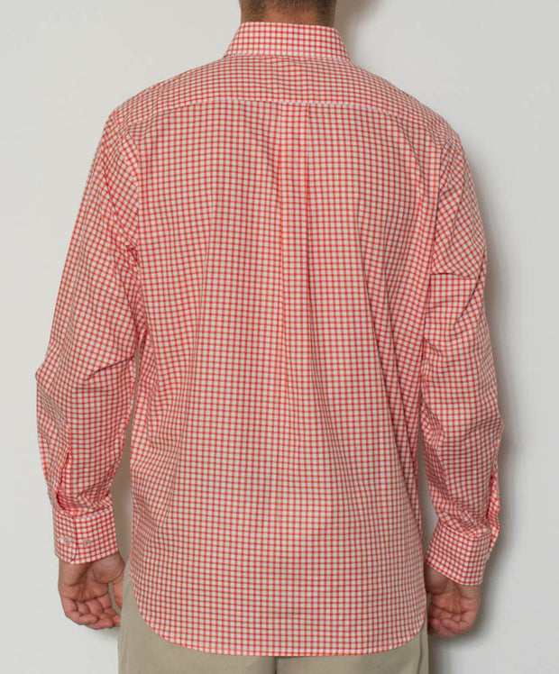 Southern Point - Hadley Long Sleeve Button Down- Back