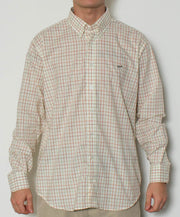 Southern Point - Hadley Long Sleeve Button Down - Pheasant Pane - Front