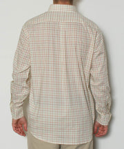 Southern Point - Hadley Long Sleeve Button Down - Pheasant Pane - Back