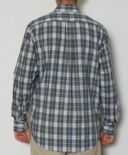 Southern Point - Hadley Long Sleeve Button Down - Vintage Plaid - Back