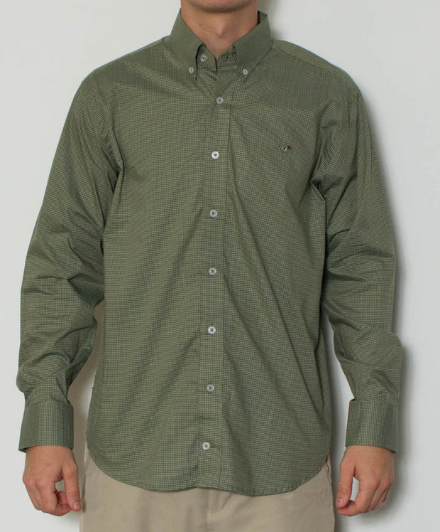 Southern Point - Hadley Long Sleeve Button Down - Front