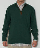 Southern Point - Hayward 1/4 Zip - Field Green Front