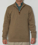 Southern Point - Hayward 1/4 Zip - Camel Front
