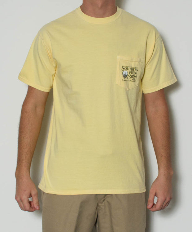 Southern Fried Cotton - Dapper Duck S/S Pocket Tee Front
