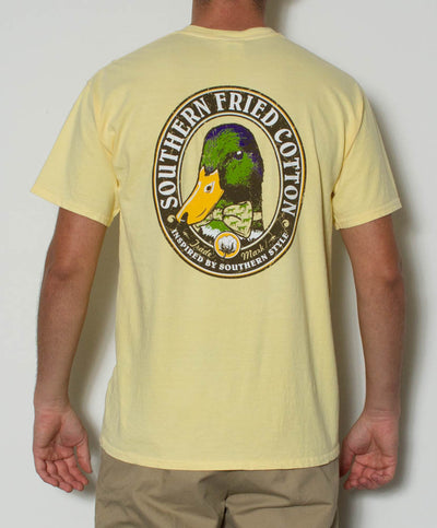 Southern Fried Cotton - Dapper Duck S/S Pocket Tee Back