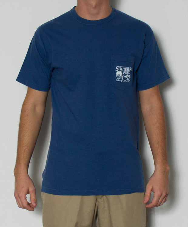 Southern Fried Cotton - Regatta S/S Pocket Tee - Front