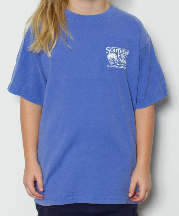 Southern Fried Cotton - Youth Polka Pointer T-Shirt - Front
