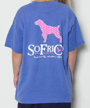 Southern Fried Cotton - Youth Polka Pointer T-Shirt - Back