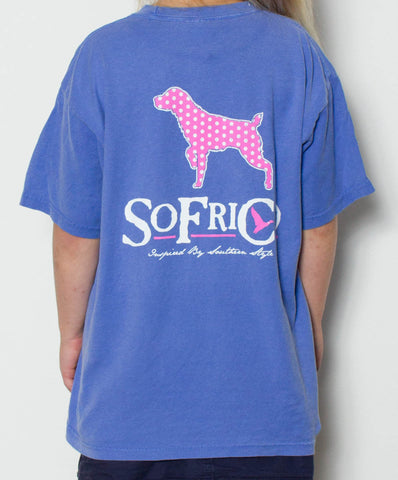 Southern Fried Cotton - Youth Polka Pointer Tee