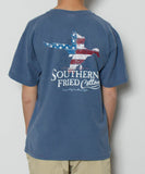 Southern Fried Cotton - Youth Duck America T-Shirt - Back
