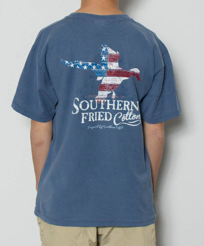Southern Fried Cotton - Youth Duck America Tee