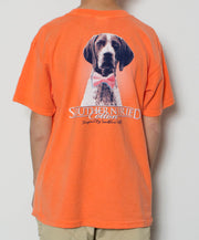 Southern Fried Cotton - Youth Winston T-Shirt - Melon Back